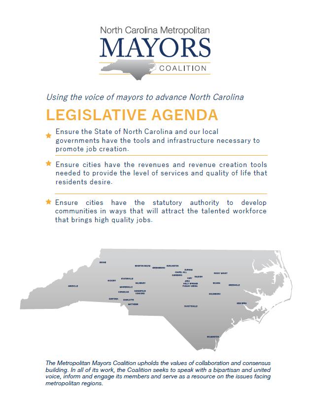 MMC-Legislative-Agenda - NC Metro Mayors